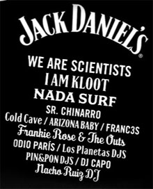 Cartel del Jack Daniel's Music Day