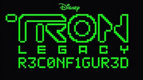 Imagen promocional del disco Tron: Legacy R3CONFIGUR3D