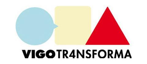 Logo del festival Vigo Transforma