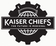 Imagen promocional del último disco, The Future Is Medieval, de Kaiser Chiefs