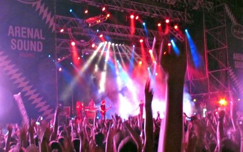 Momento del Arenal Sound 2011