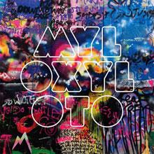 Portada de Mylo Xyloto de Coldplay