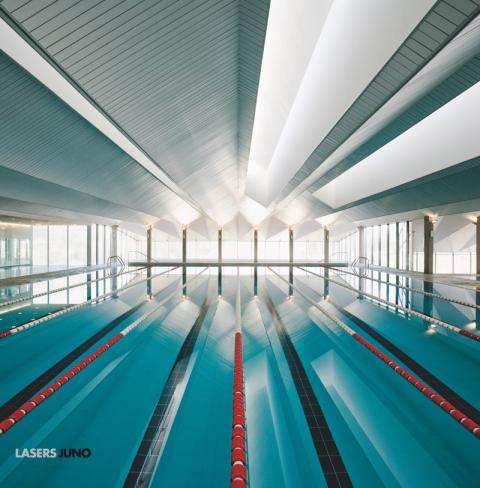 Portada de Juno disco debut de Lasers