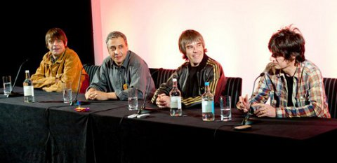 Rueda de prensa del regreso de The Stone Roses