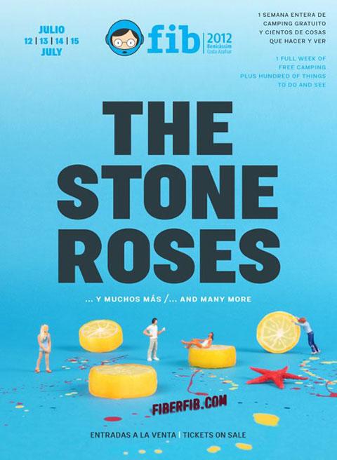 The Stone Roses en el FIB 2012
