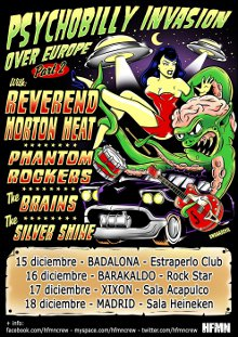 Psychobilly invasion