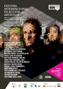 Cartel provisional del SOS 4.8 2012