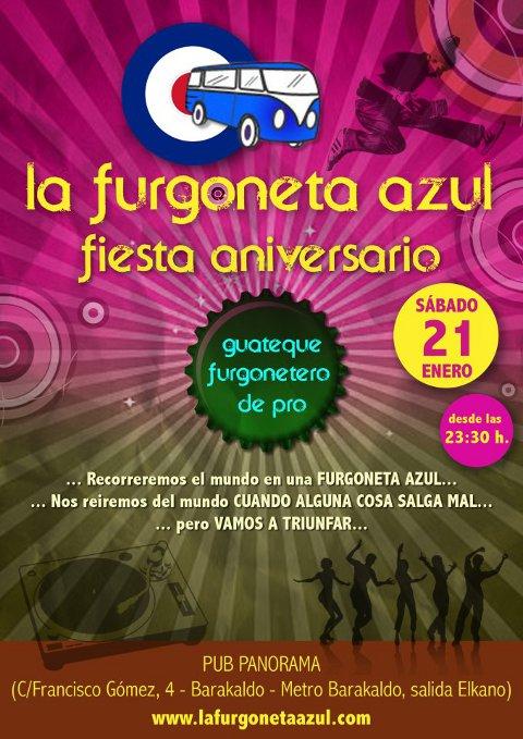 Fiesta Aniversario La Furgoneta Azul