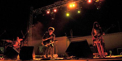 Elastic Band en concierto