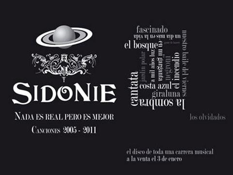 Nada Es Real Pero Es Mejor, recopilatorio de Sidonie