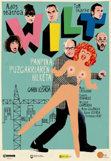 Cartel promocional de la obra de teatro Wilt