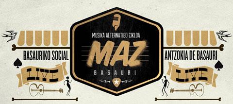 Logo del MAZ Basauri