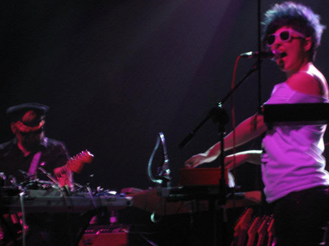 Munlet durante su concierto en el Kafe Antzokia