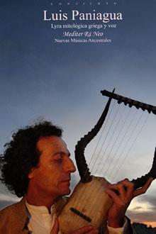 Cartel del concierto de Luis Paniagua