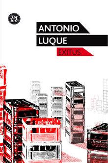 Portada del libro Exitus de Antonio Luque