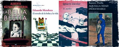 Portadas de los libros del escaparate literario de mayo de 2012