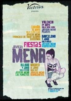 Cartel de la gira de Javiera Mena