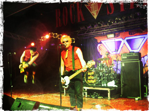 The Toy Dolls en la Rockstar Live de Barakaldo