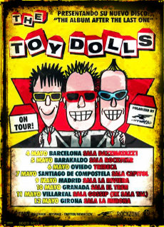 Cartel de la gira de Toy Dolls