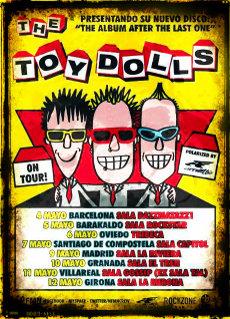 Cartel de la gira de Toy Dolls