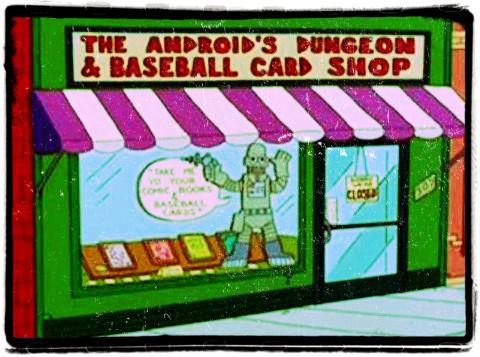 Tienda de comics de Los Simpsons