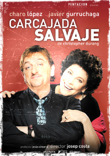 Cartel de la obra de teatro Carcajada Salvaje