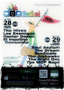 Cartel del WOP Festival 2012