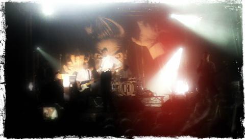 The Hives en el escenario del WOP Festival 2012