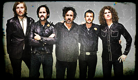 The Killers junto a Tim Burton
