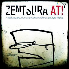 Cartel del festival Zentsura at!
