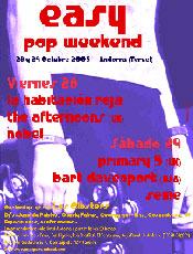 Easy pop weekend