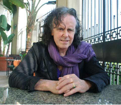 El cantautor Donovan