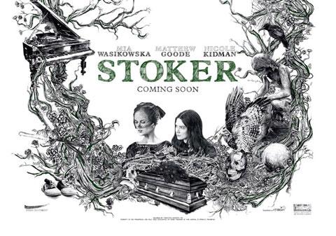 Uno de los carteles de Stoker