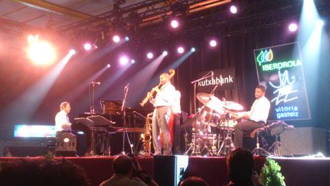Branford Marsalis quartet en el 37º Festival de Jazz de Vitoria