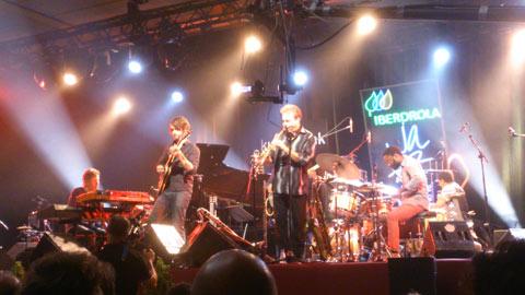 Chick Corea y su combo The Vigil en el Festival de Jazz de Vitoria