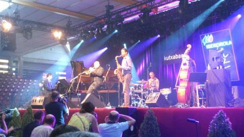 El quinteto de Ibrahim maalouf en el festival de jazz de Vitoria