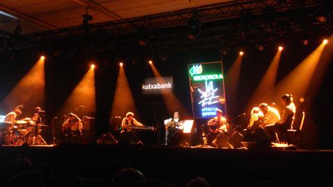 Paco de Lucía y su combo en el festival de jazz de Vitoria
