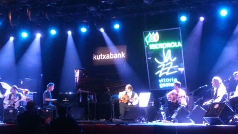 La jam de Paco de Lucía y Chick Corea en el festival de jazz de Vitoria