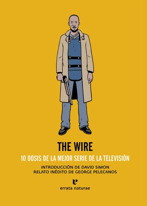 Portada del libro de Errata naturae sobre la serie The Wire