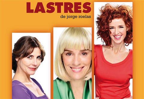 cartel de la obra de teatro Lastres
