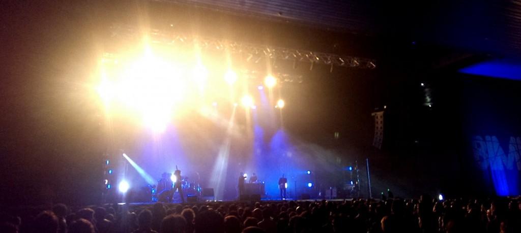 Mercury Rev sobre el escenario 3 del BIME