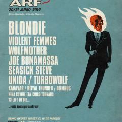 Primeros nombres para el Azkena Rock Festival 2014