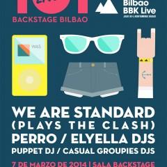 Fiesta de presentación del Bilbao BBK Live 2014 con We Are Standard