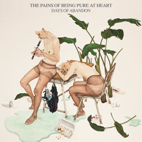 "Portada del ""Days of Abandon"" de The Pains of Being Pure at Heart"