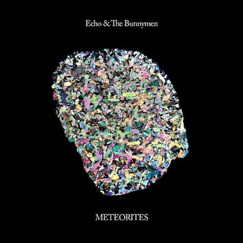 """Portada del """"Meteorites"""" de Echo & The Bunnymen"""