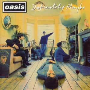 """Portada del """"Definitely Maybe"""" de Oasis"""