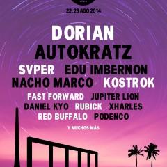 El cartel del Electro Pop Alfara Festival 2014 arranca con Dorian como protagonista