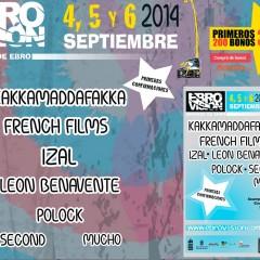 Primeros confirmados para el Ebrovisión 2014