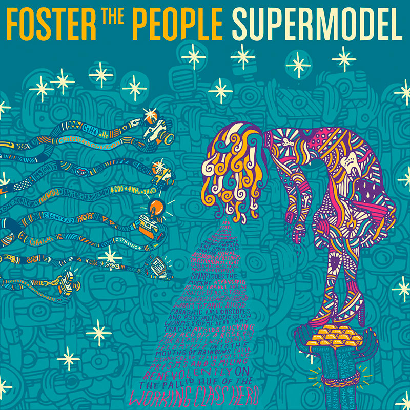 "Portade del ""Supermodel"" de Foster The People"