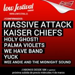 Siete nuevos nombres para el Low Festival 2014